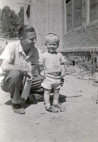 John and Dad, Kabul, Afghanistan